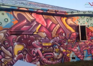 Graffiti Art house - Christchurch